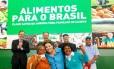 Dilma durante solenidade em Brasília nesta segunda-feira.