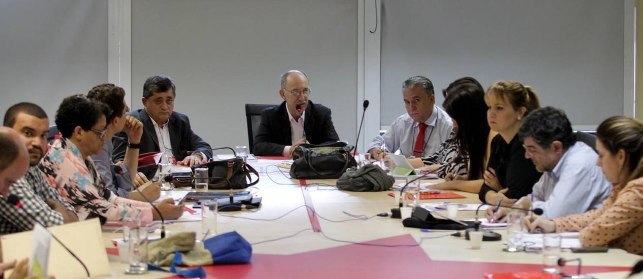 Reunião da Execultina Nacional do PT Foto: Ailton de Freitas/ O Globo