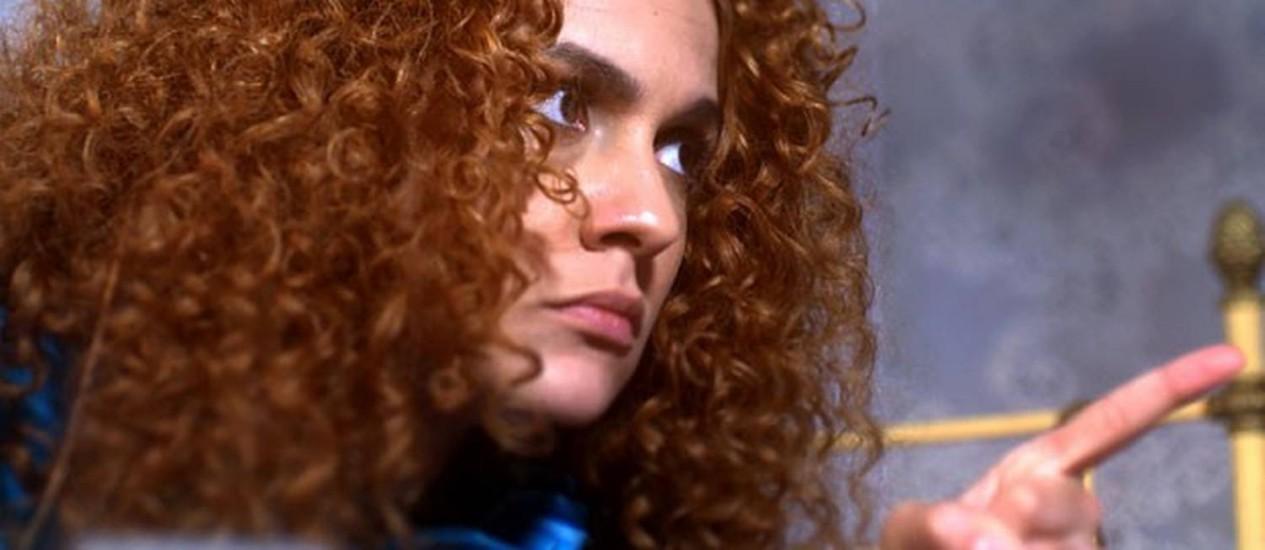 Gina se oferece para convencer Nando a entrar na política em 'Meu pedacinho de chão' Foto: Divulgação/ TV Globo