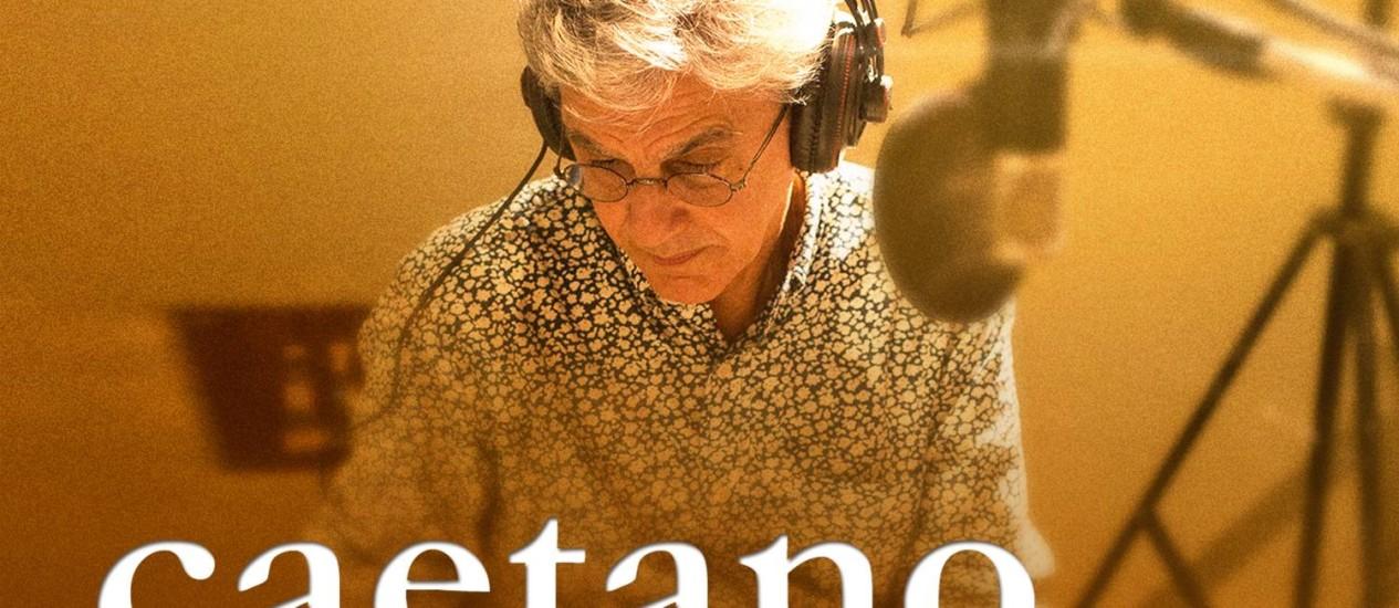 """Capa de """"iTunes session Caetano Veloso"""" Foto: Divulgação / O Globo"""