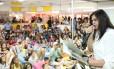 Encontros. No Salão do ano passado, Bia Bedran recebeu dúzias de jovens (e adultos) para uma leitura; a escritora e compositora volta ao evento neste ano