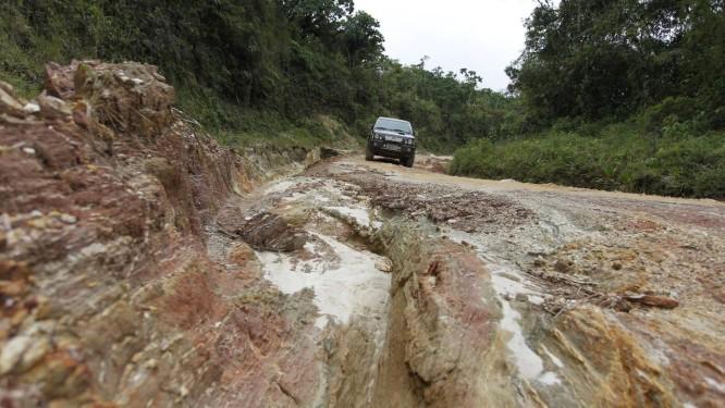 São José do Barreiro. Parque Nacional da Serra da Bocaina tem estradas alagadas e sem sinalização Foto: Domingos Peixoto