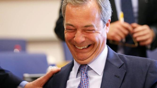 Nigel Farage. Líder do Ukip descarta aproximação com a Frente Nacional, vencedora na França Foto: FRANCOIS LENOIR / REUTERS