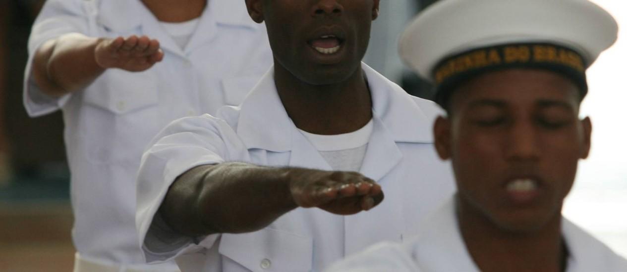 Marinha promove concurso para 33 vagas em cargos de níveis médio e superior Foto: Arquivo / Agência O Globo