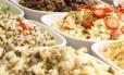 Opções. Clientes encontram receitas diversas no Brasa Gourmet