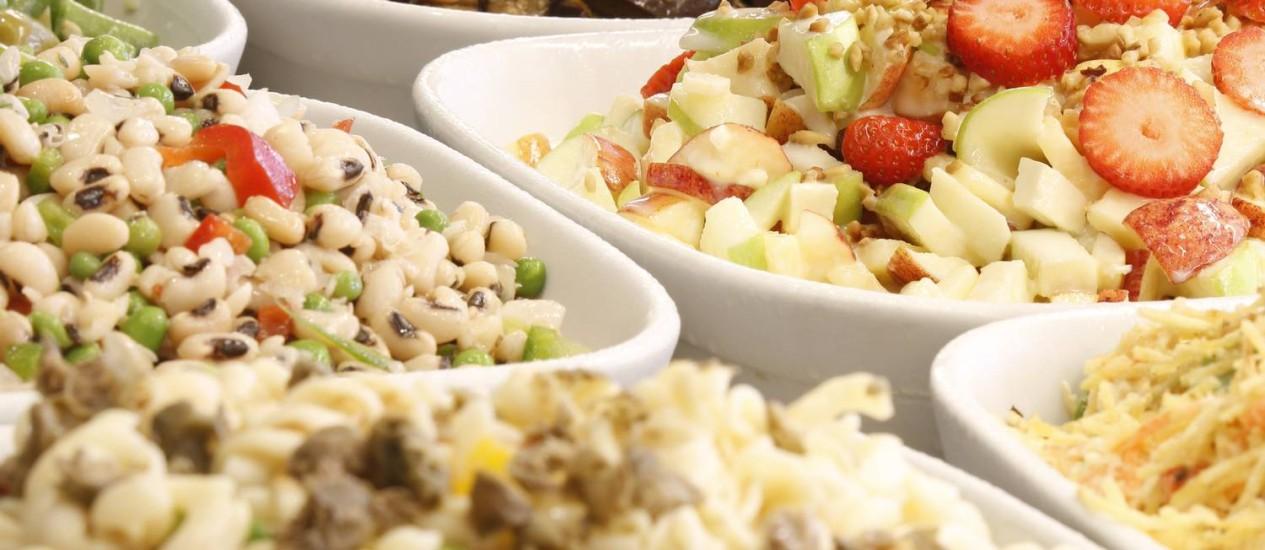 Opções. Clientes encontram receitas diversas no Brasa Gourmet Foto: Fabio Rossi / Fabio Rossi