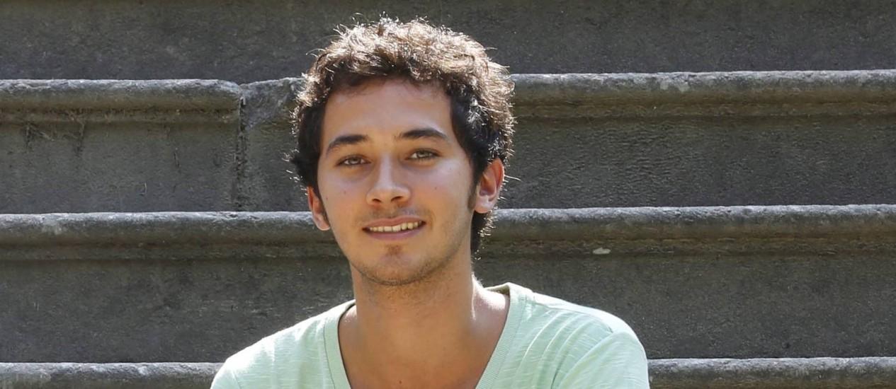 Gabriel Falcão: curso e férias Foto: O Globo
