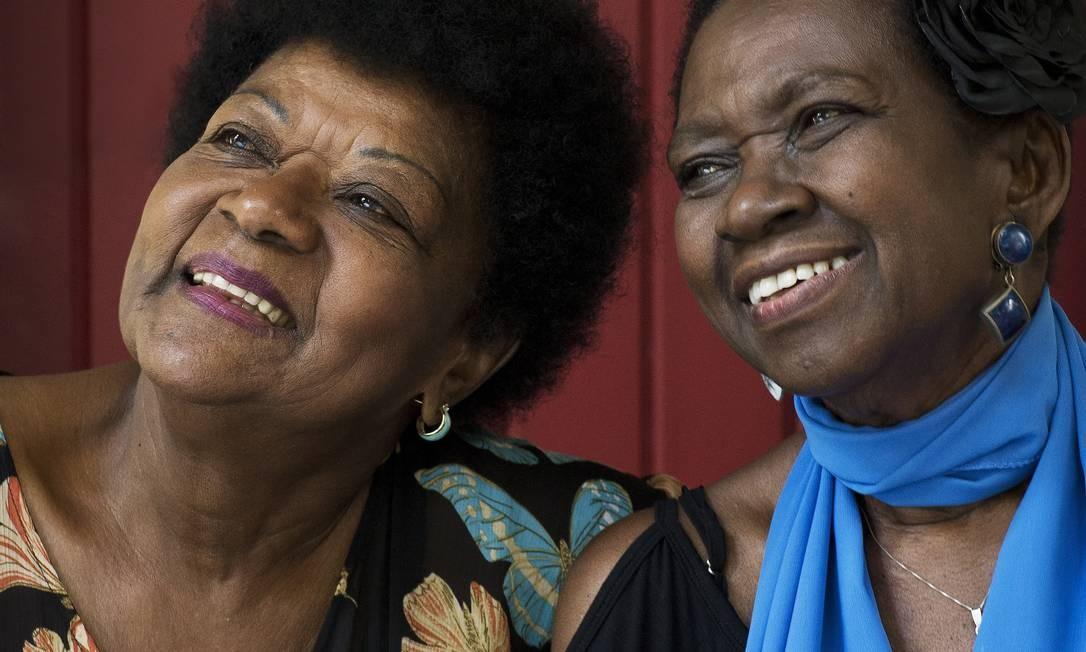 Amigas há mais de 50 anos, Áurea Martins e Alaíde Costa eram admiradas por Elizeth Foto: / Guito Moreto