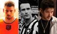 Cauã Reymond, Rodrigo Santoro e Murilo Benício foram jogadores de futebol na ficção