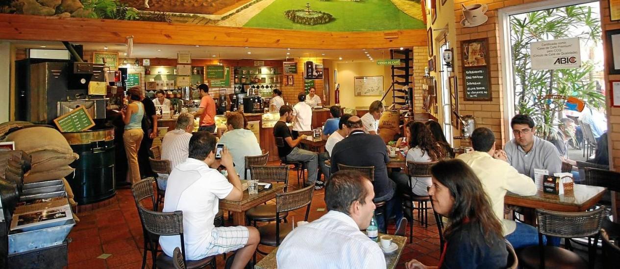 Edição limitada: O Armazém do Café oferece grãos exclusivos Foto: Eduardo Naddar