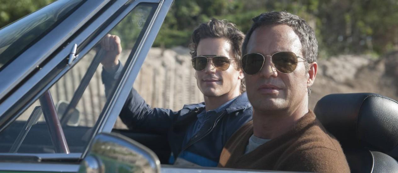 """Mark Ruffalo e Matt Boomer em cena de """"The normal heart"""" Foto: Divulgação"""