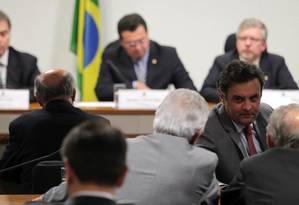 CPI mista da Petrobras no dia em que foi instalada no Congresso - 28/05/2014 Foto: Ailton de Freitas/ O Globo