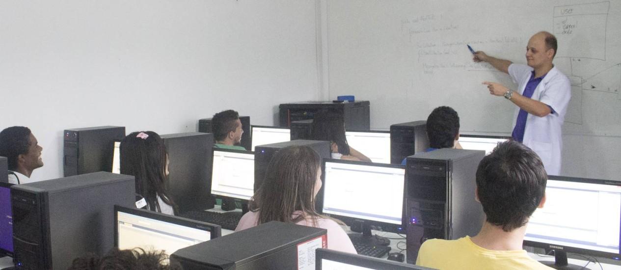 Leonardo Cioti leciona em duas universidades, montou o Instituto Infoclad e o aplicativo Facilista Foto: Divulgação