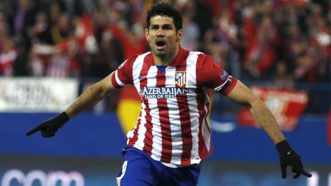 O jogador Diego Costa, atacante do Real Madrid Foto: Reuters