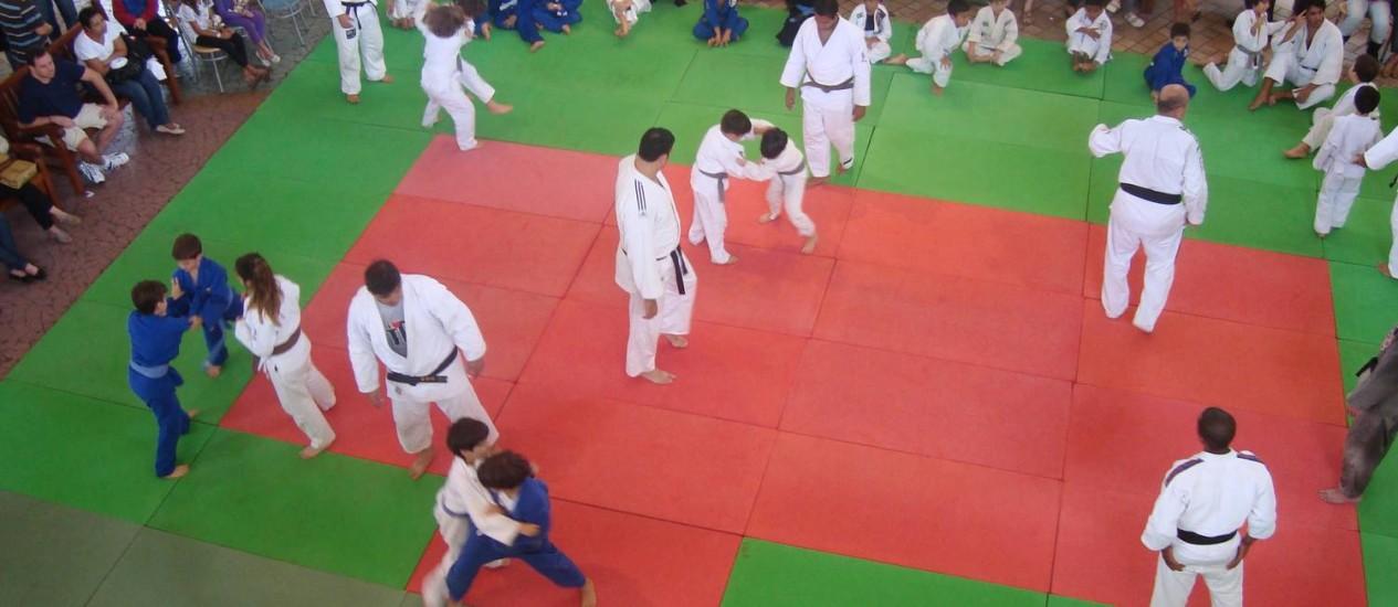 Educação e esporte. VI Festival de Judô acontece no Cittá America Foto: Divulgação / Divulgação