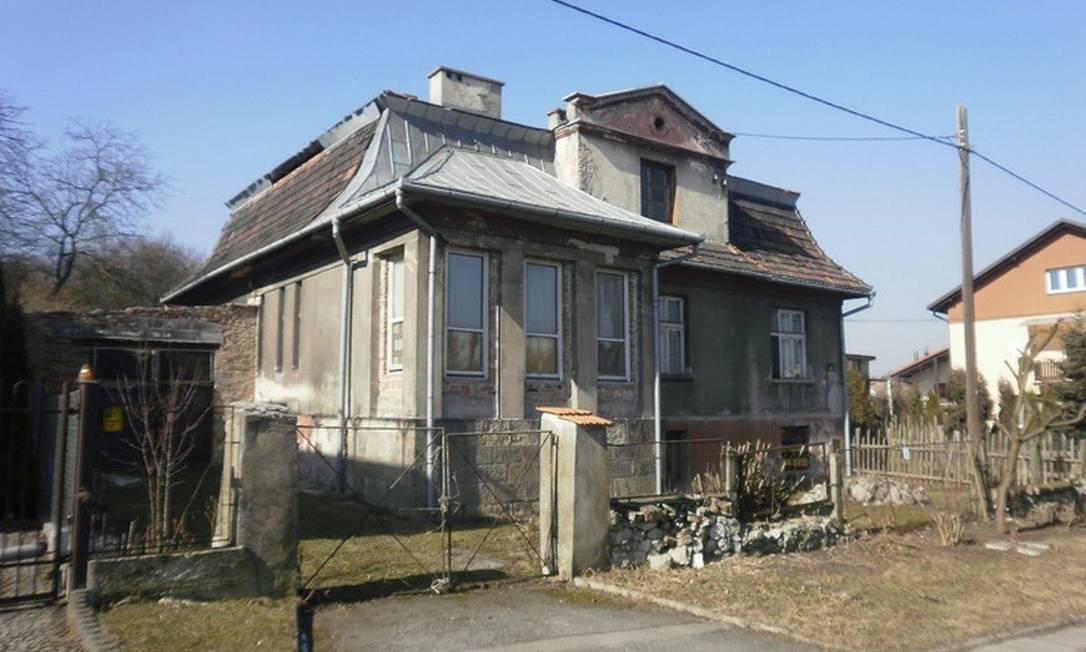 A casa do nazista Amon Goeth, em Cracóvia, Polônia Foto: / Reprodução