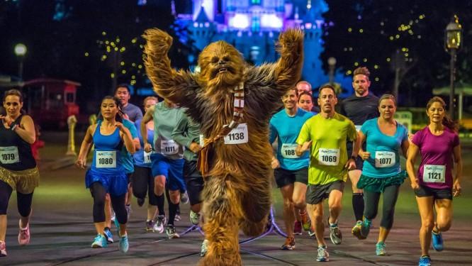 Corra, Chewbacca, corra: provas com temática de