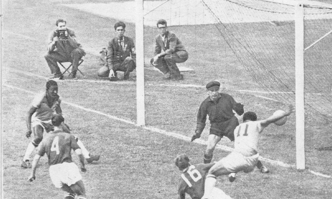d0df2e367a9b9 Copa de 1958  Início da era de ouro do futebol brasileiro - Jornal O Globo