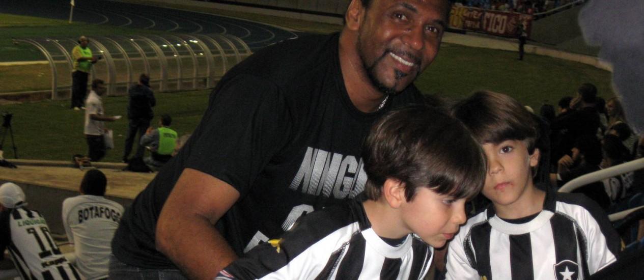 Maurício vai coordenar os seguranças nos estádios da Copa Foto: (Daniel Costa e Silva / Agência O Globo)