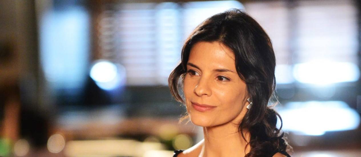 MUSICAL. Por causa da novela, a atriz começou a ter aulas de piano Foto: TV Globo