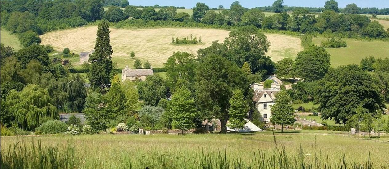 O povoado de Little Rollright: à venda Foto: Reprodução