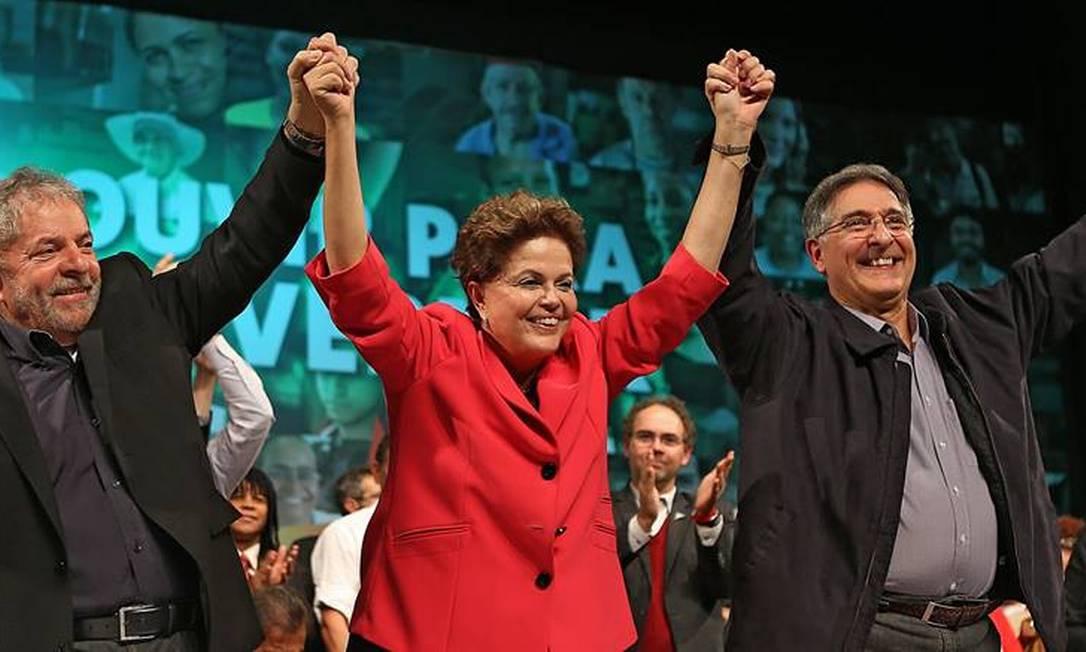 Lula e Dilma participam de ato em Belo Horizonte da candidatura de Fernando Pimentel ao governo de Minas Foto: Divulgação