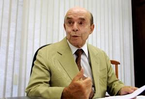 Senador do PP, Francisco Dornelles Foto: Ailton de Freitas / O Globo 28-2-2013