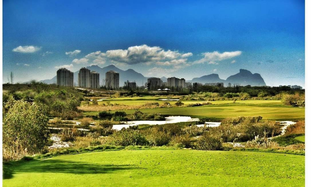 Imagem do futuro campo olímpico de golfe, na Barra Foto: Divulgação / Rio 2016