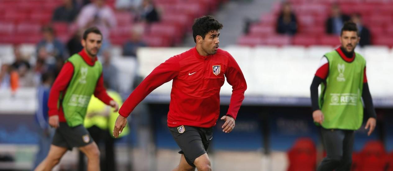 Diego Costa foi confirmado entre os 23 convocados da Espanha para a Copa do Mundo Foto: Stefan Wermuth / Reuters