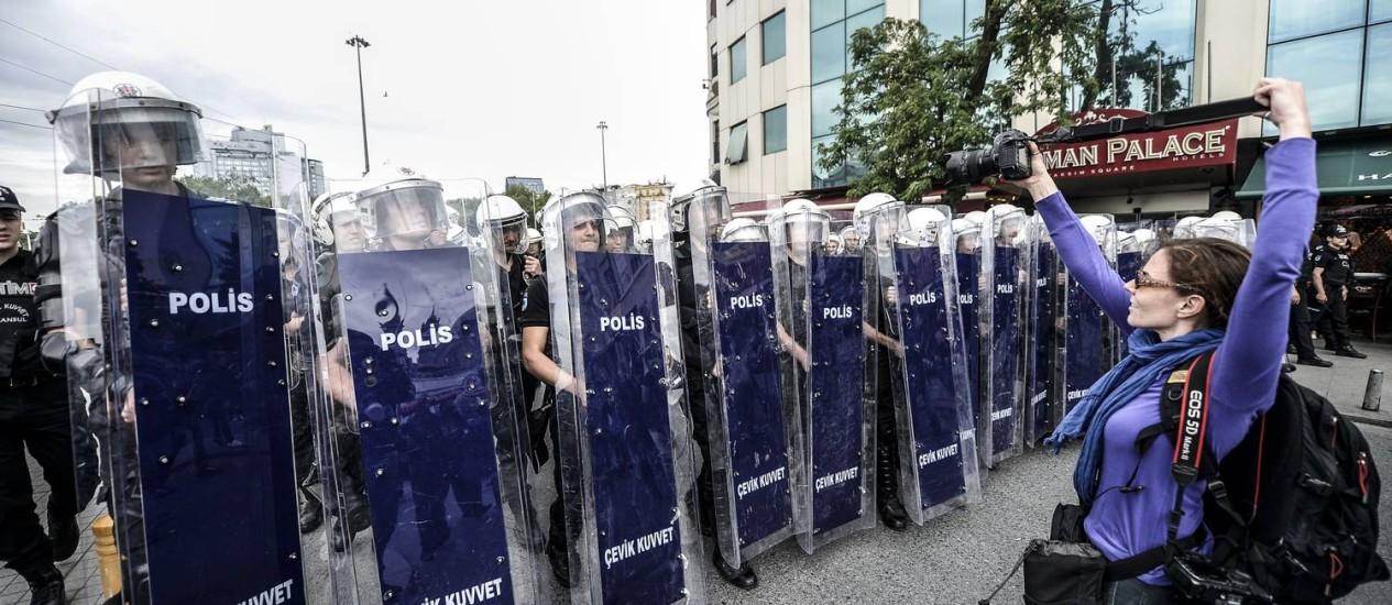 TURKEY-UNREST-POLITICS-DEMO Foto: BULENT KILIC / AFP