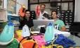 Os Empresários do ramo de calçados de tenis, Vinicius Matteo, Miquel Marinho e Gabriel Lira
