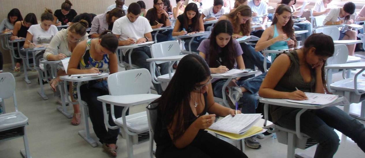 Inscrições para o Sisu do segundo semestre começam nesta segunda Foto: Agência O Globo