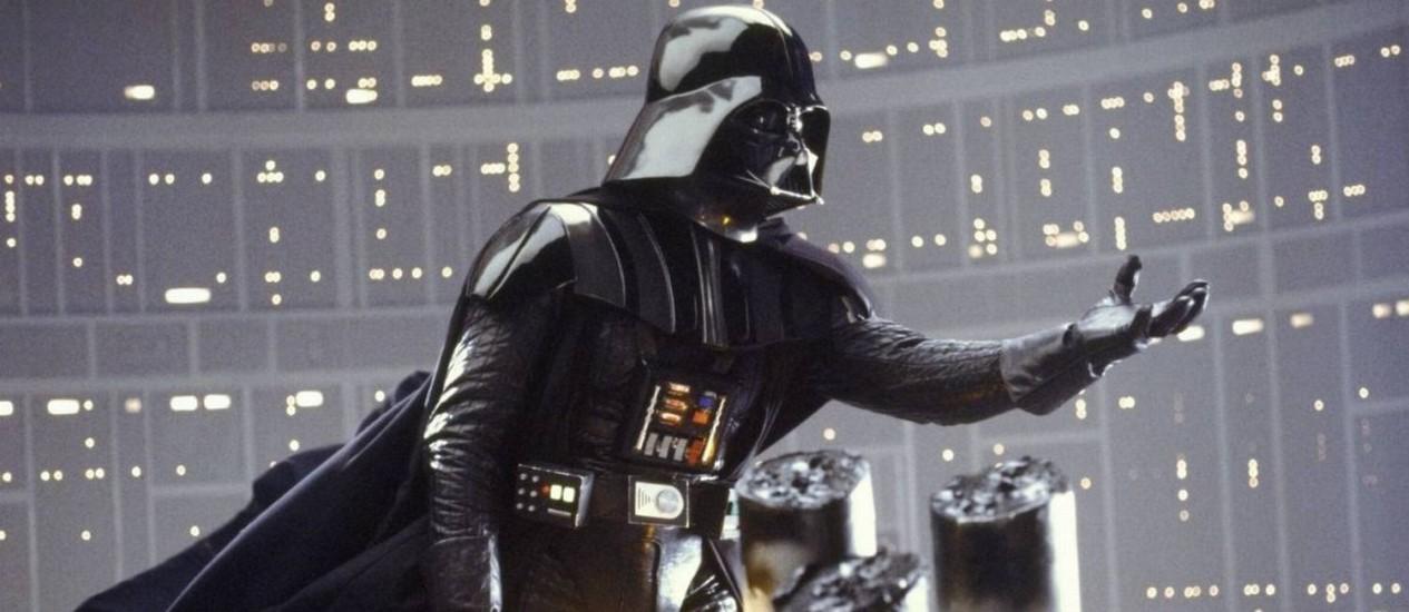 Darth Vader em 'O império contra-ataca' Foto: REPRODUÇÃO