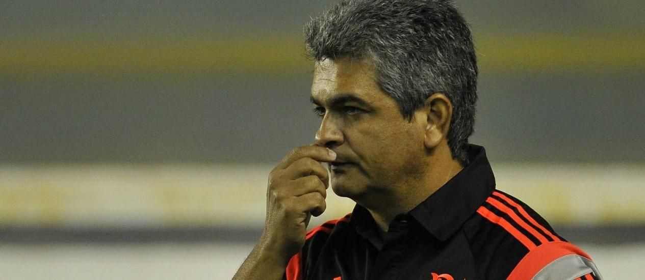 Técnico do Flamengo Ney Franco Foto: Fabio Castro / Fábio Castro/AGIF