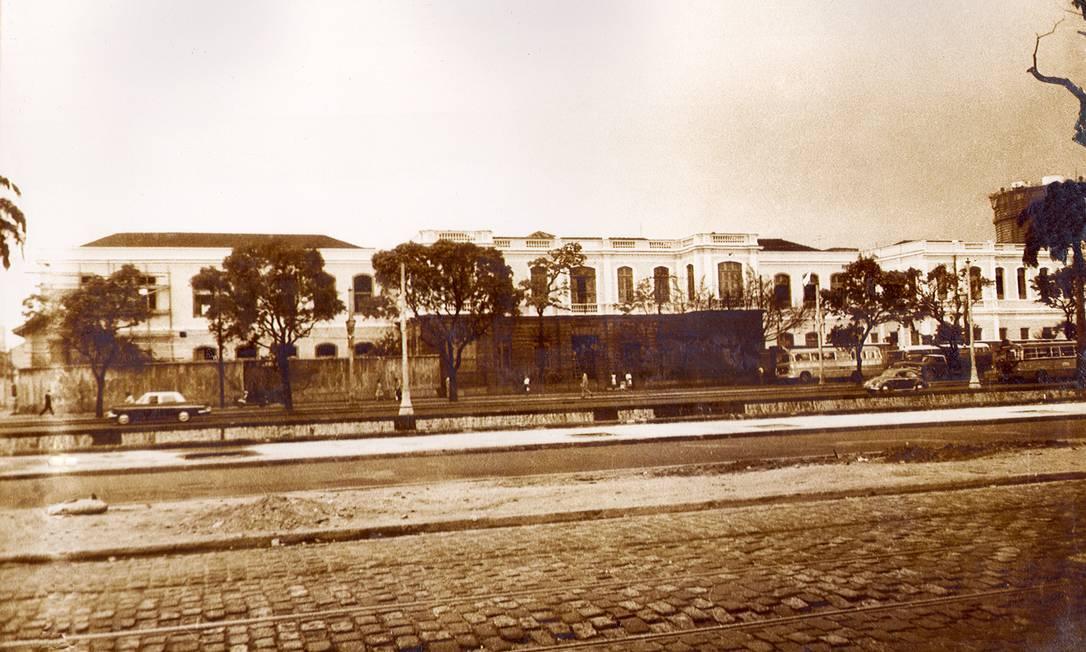 O São Francisco de Assis em foto de 1965 Foto: Divulgação/UFRJ /