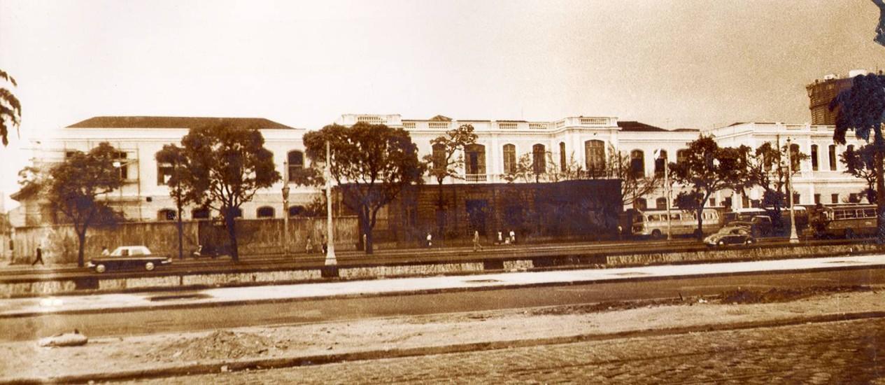 O São Francisco de Assis em foto de 1965 Foto: Divulgação/UFRJ