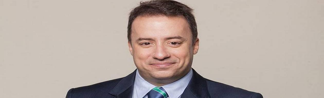 Maurício Torres, jornalista da Record Foto: Divulgação / Rede Record