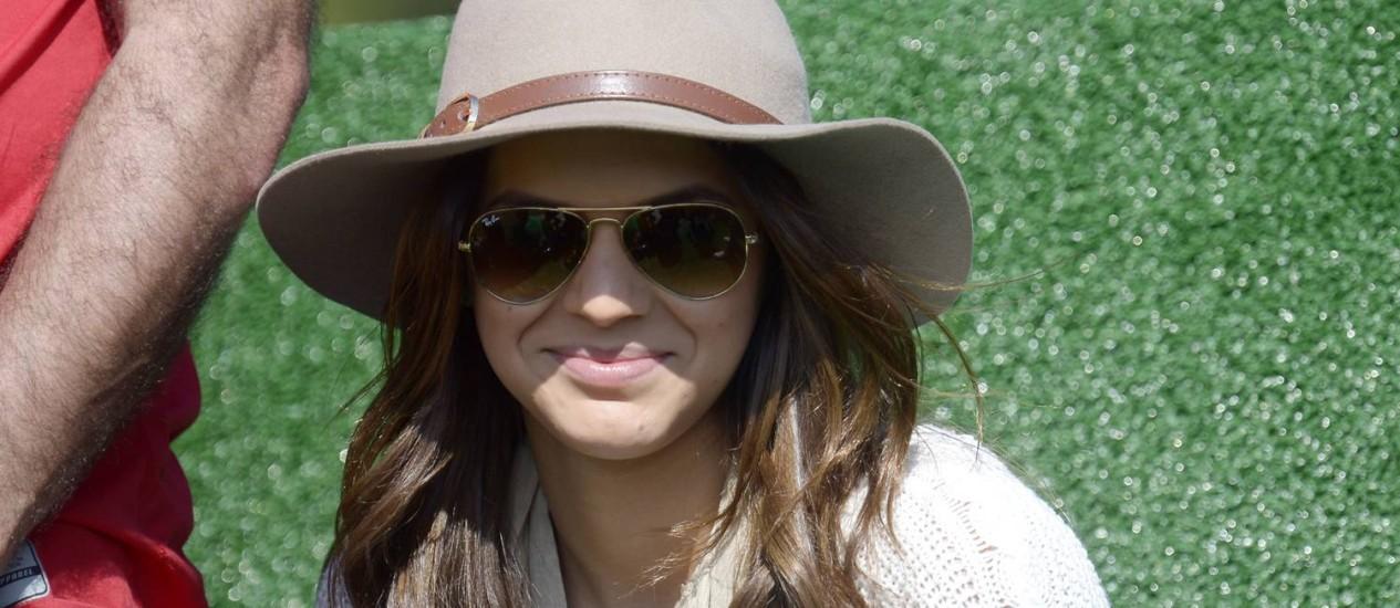 Bruna Marquezine visita a seleção brasileira na Granja Comary Foto: Vipcomm / Divulgação