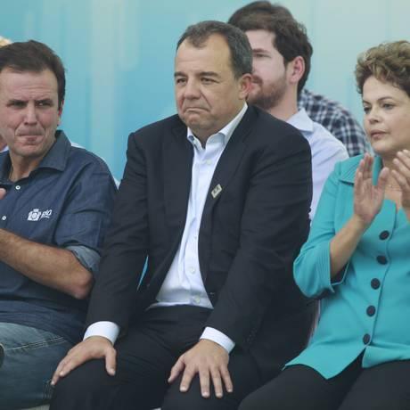 Presidenta Dilma Rousseff Foto: Domingos Peixoto / O Globo