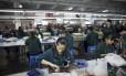 Fábrica da Faber-Castell em Guangzhou, na China