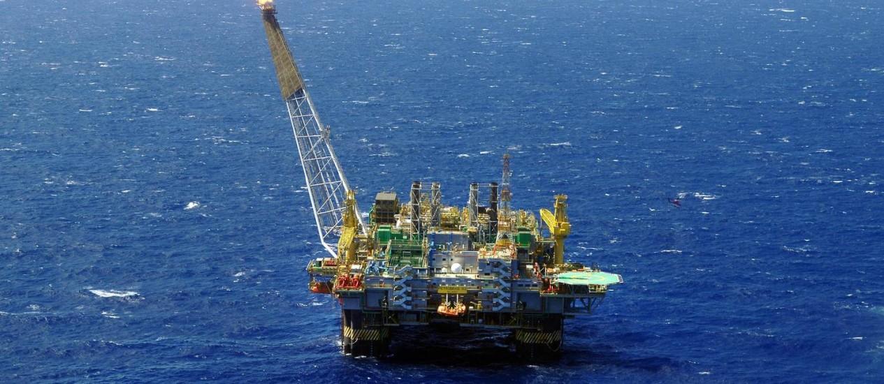 Unidade da petrolífera na Bacia de Campos Foto: Divulgação/Arquivo