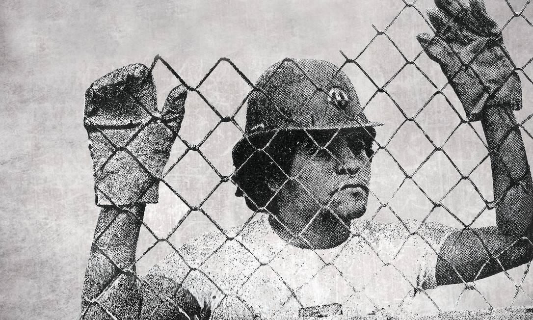 Foto do filme sobre Tim Lopes, do diretor Guilherme Azevedo Foto: Filme Tim Lopes / Divulgação