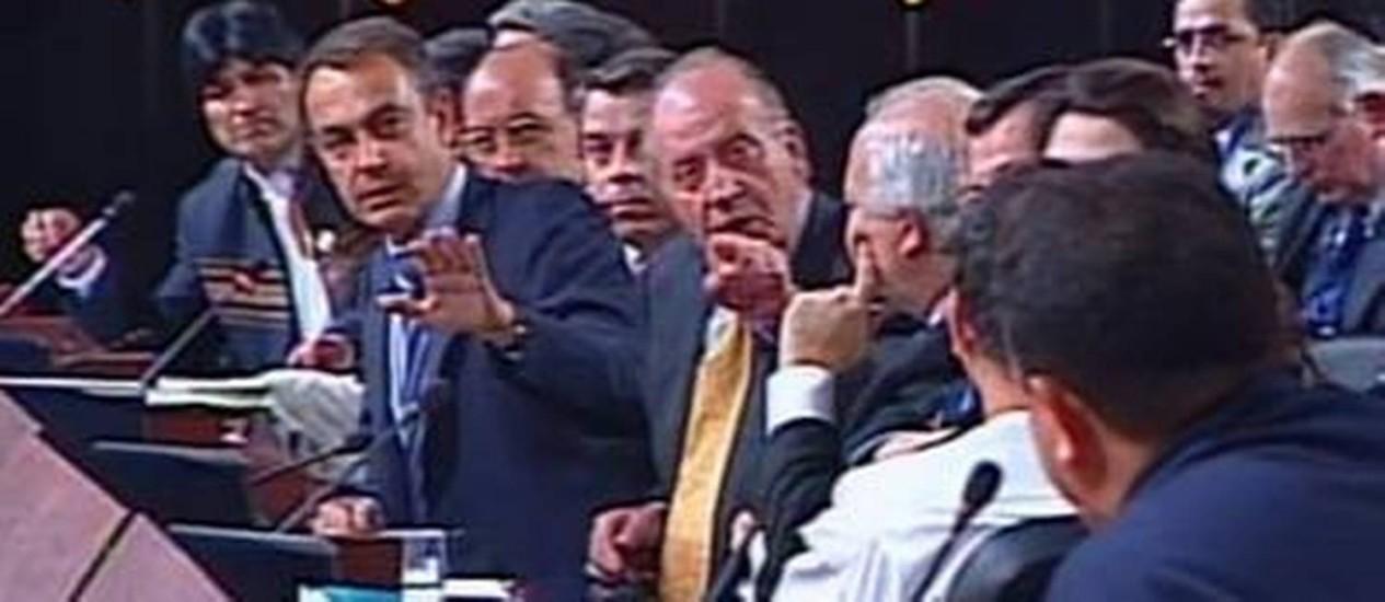 Resultado de imagem para Porque não te callas do Rei da Espanha Juan Carlos.
