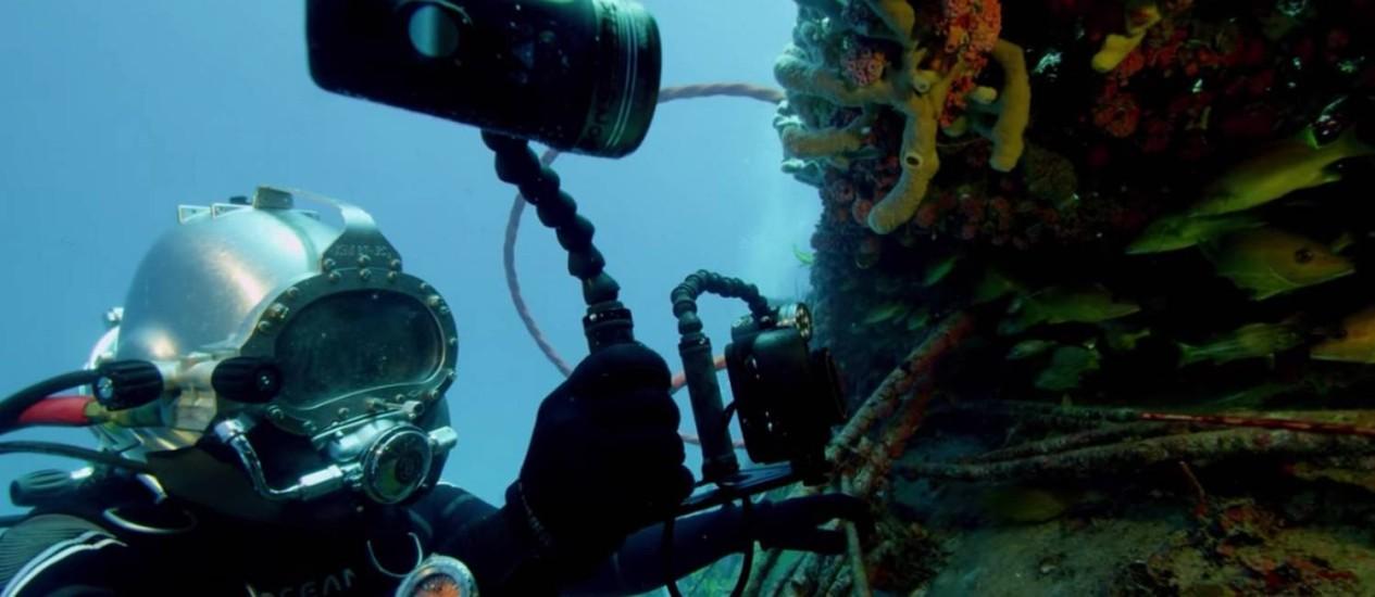Expedição também fará pesquisas cientificas em corais tal como a de seu avô Foto: Divulgação