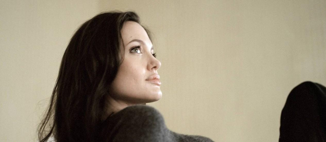 Angelina Jolie pensa em parar de atuar para se dedicar a outros projetos Foto: Todd Heisler / Agência O Globo