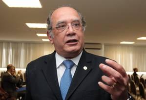 Ministro do STF Gilmar Mendes Foto: Givaldo Barbosa - 02/06/14 / O Globo
