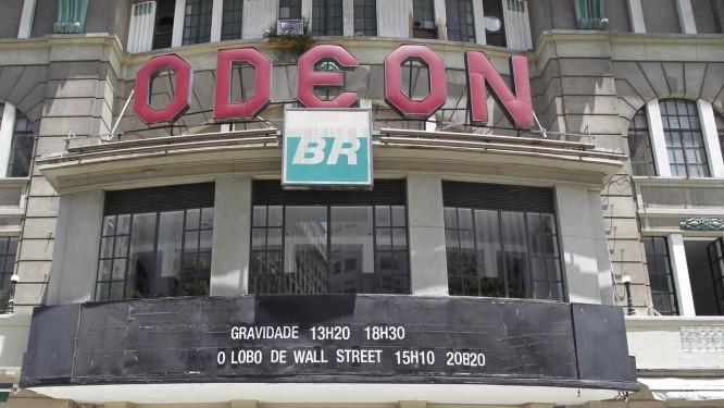 O Odeon é o último cinema que restou na Cinelândia Foto: Foto de Márcia Foletto/18-2-2014