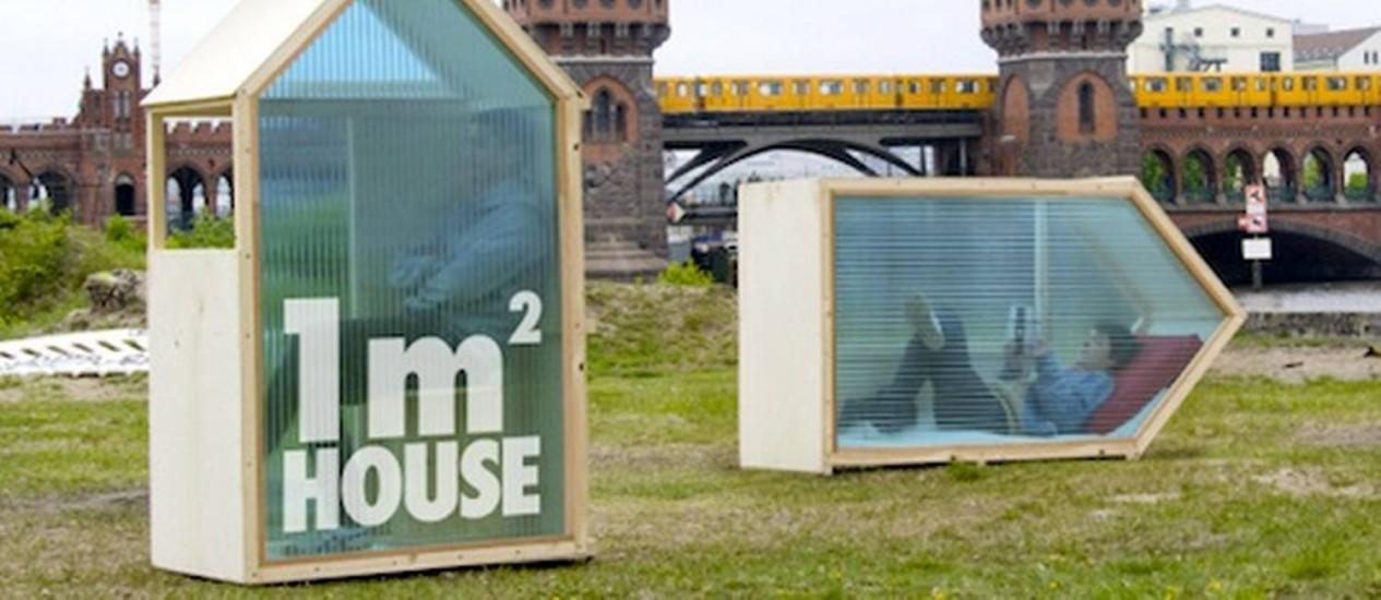 Você moraria neste cubículo? Foto: Reprodução da internet