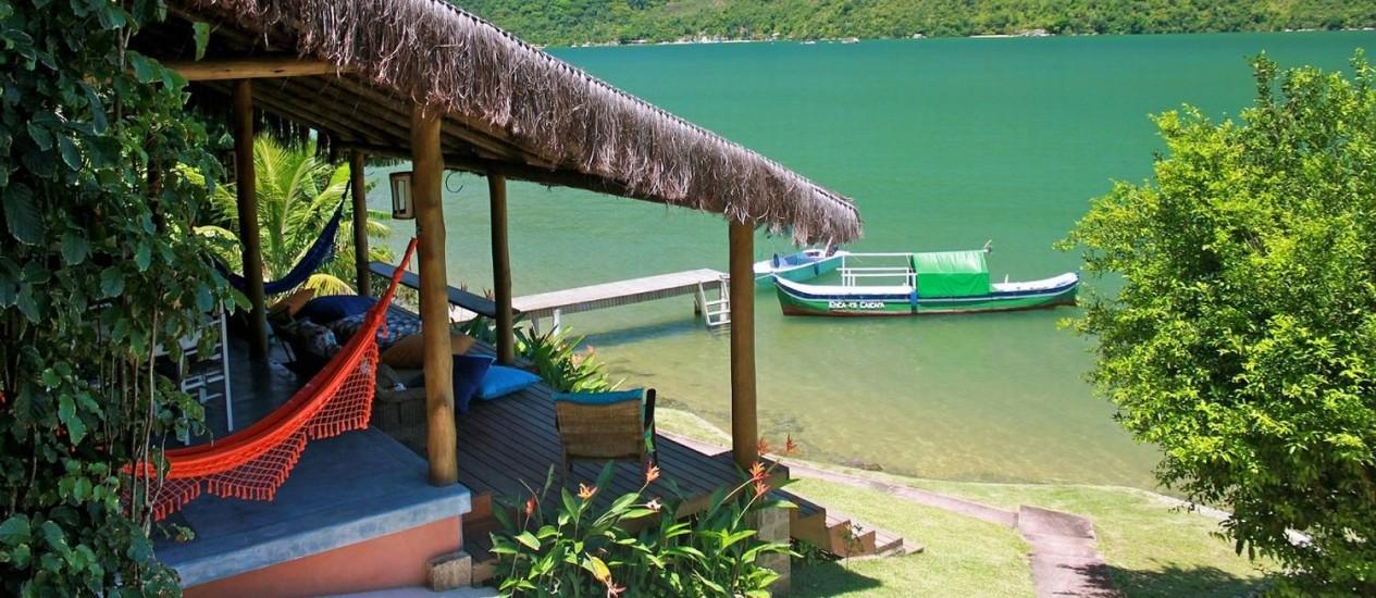 O Refúgio Mamanguá, em Paraty, está na edição mais recente do guia Foto: Divulgação