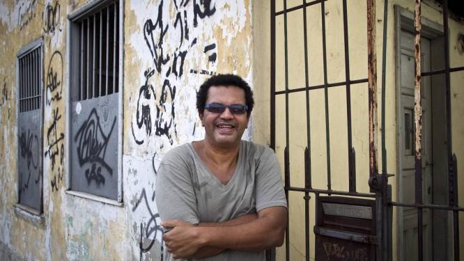 """O compositor Marquinhos de Oswaldo Cruz, autor do samba """"Geografia Carioca"""" Foto: Guito Moreto"""
